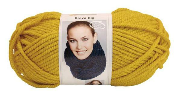 Wolle Bravo Big - 200 g, gold