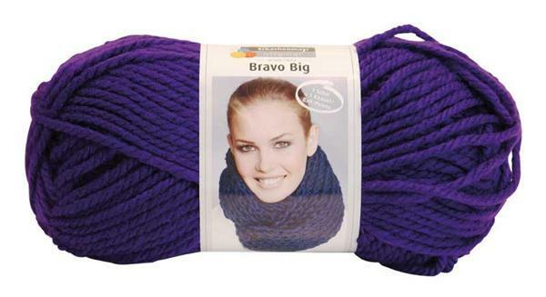 Laine Bravo Big - 200 g, violet