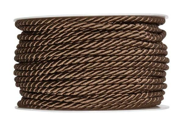 Cordelette - Ø 4 mm, brun