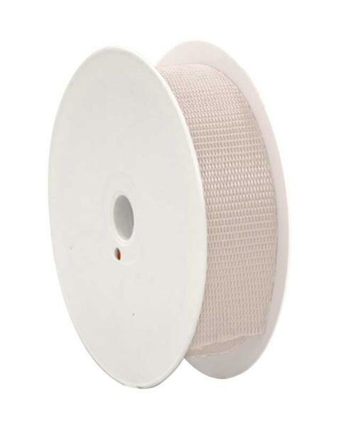 Gurtband - 28 mm, creme
