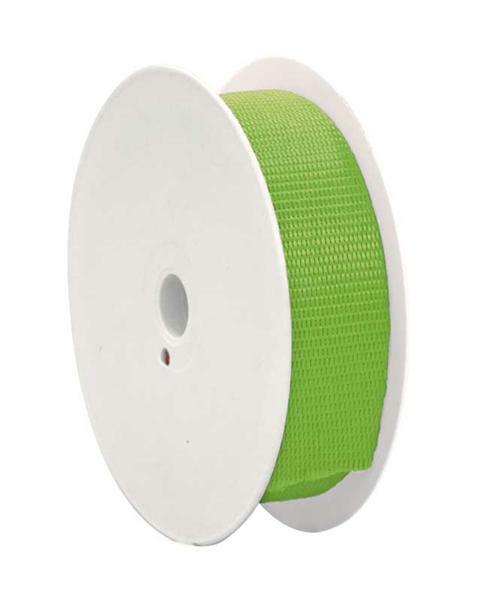 Gurtband - 28 mm, hellgrün