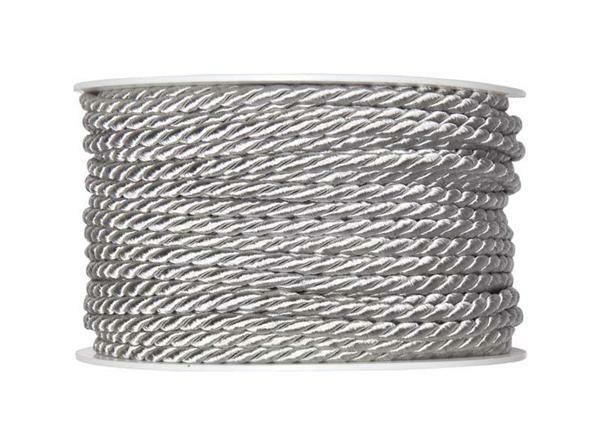 Kordel - Ø 4 mm, grau