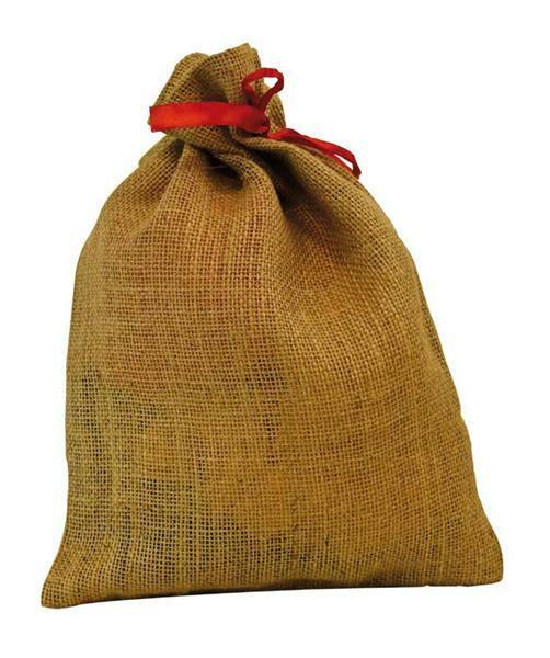 Petits sacs de jute - naturel, 33 x 24 cm
