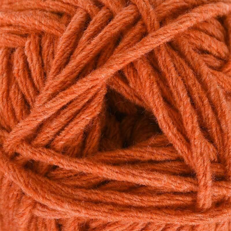 Wolle hatnut denim - 50 g, kupfer
