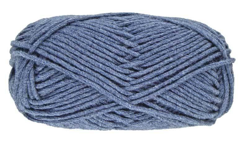 Wol hatnut denim - 50 g, donkerblauw