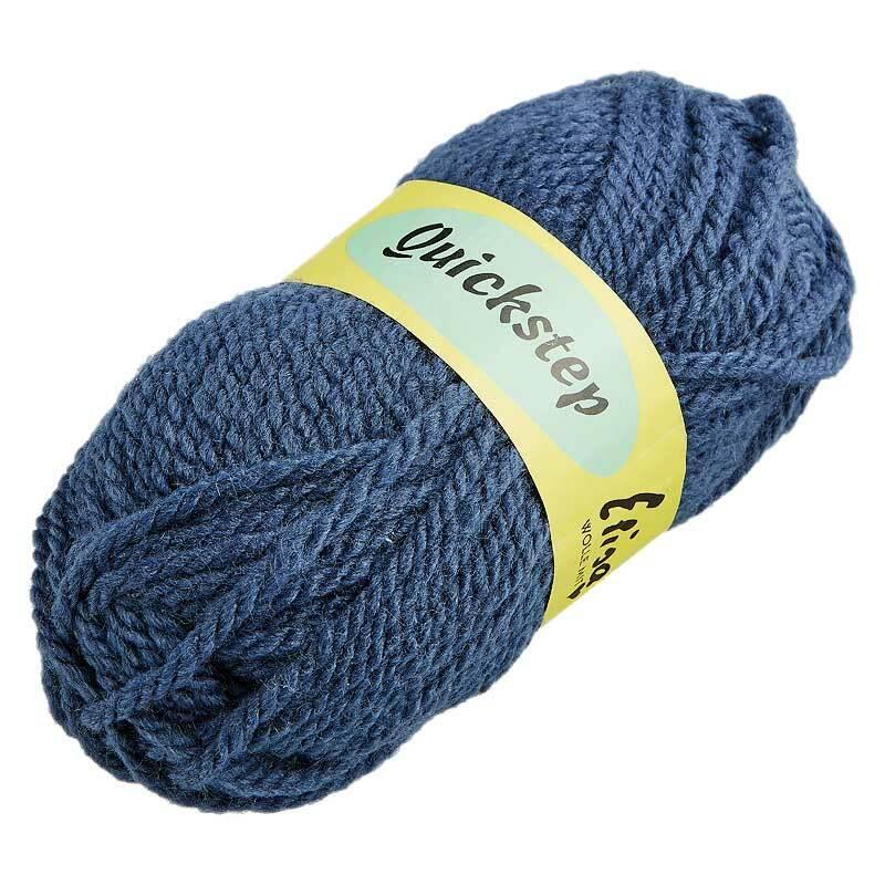 Wolle Quickstep - 50 g, blau-grau