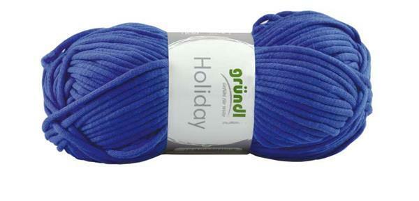 Laine Holiday - 50 g, bleu foncé