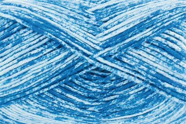 Wolle Nizza - 50 g, blau