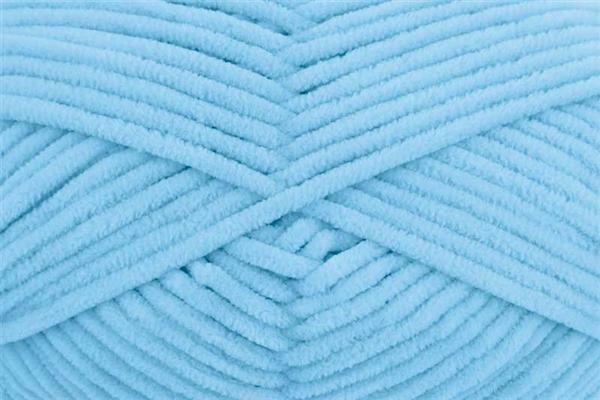 Wolle Funny uni - 100 g, pastellblau