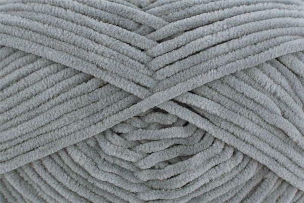 Wolle Funny uni - 100 g, grau