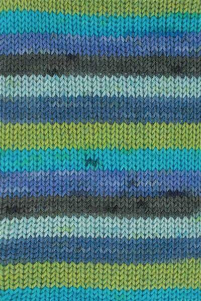 Laine chaussettes Hot Socks color - 50 g, vert