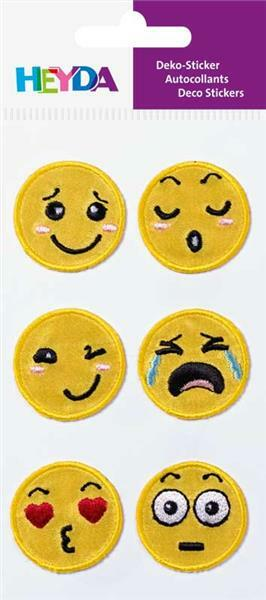 Sticker textile - Smilies
