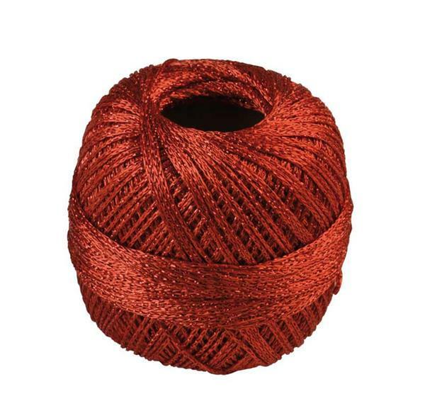 Fil à crocheter - 25 g, rouge