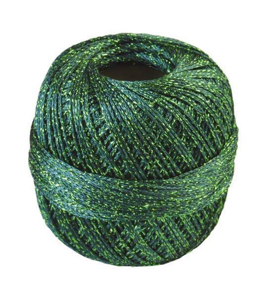 Fil à crocheter - 25 g, vert