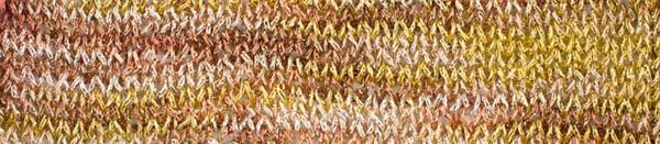 Haakgaren - 25 g, kleurenmix goud