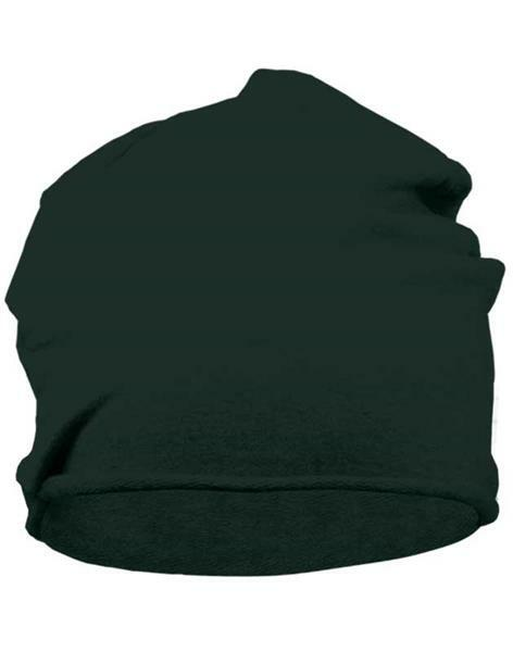 Jersey Beanie muts - one size, zwart
