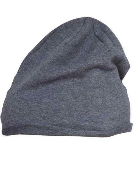 Bonnet Beanie Jersey - taille unique, bleu jeans