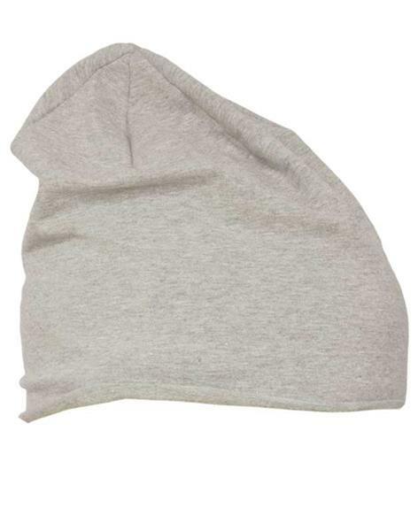 Jersey Beanie muts - one size, grijs
