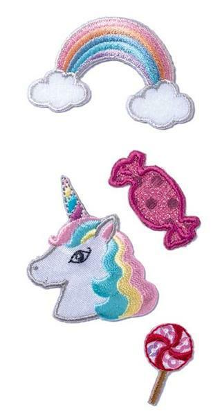 Sticker textile - Licorne