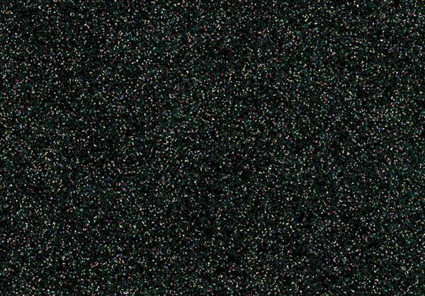 Feuille thermocollante pailletée - 9x16cm, noir