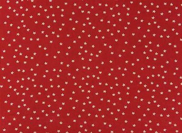 Druckstoff - natur, Sternenhimmel rot