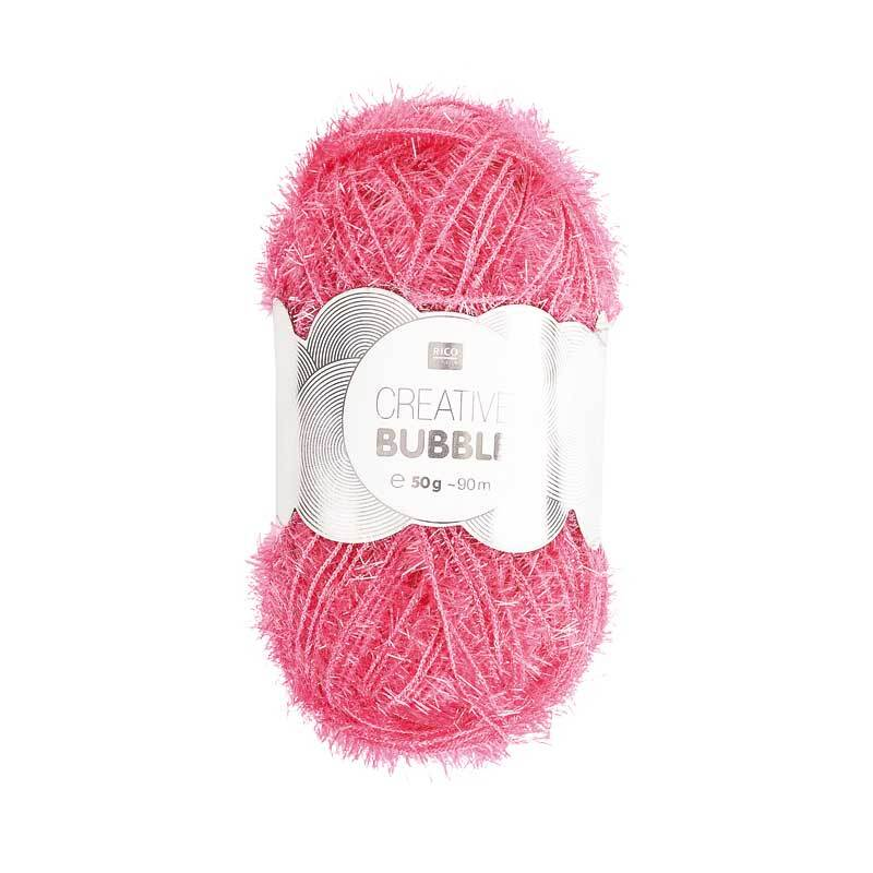 Creative Bubble Garn - 50 g, pink