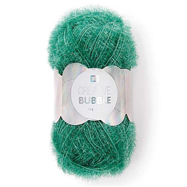 Creative Bubble Garn - 50 g, grün