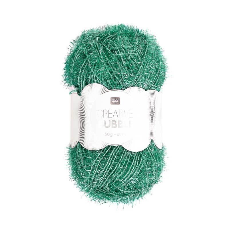 Creative Bubble Laine - 50 g, vert