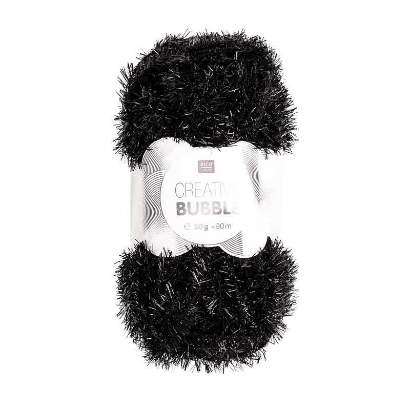 Rico Creative Bubble garen - 50 g, zwart