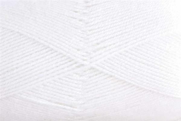 Wolle Baby uni - 50 g, weiß