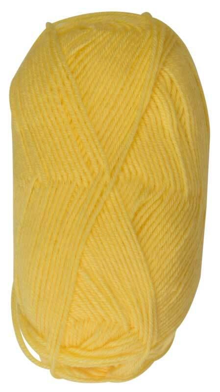 Wolle Baby uni - 50 g, gelb