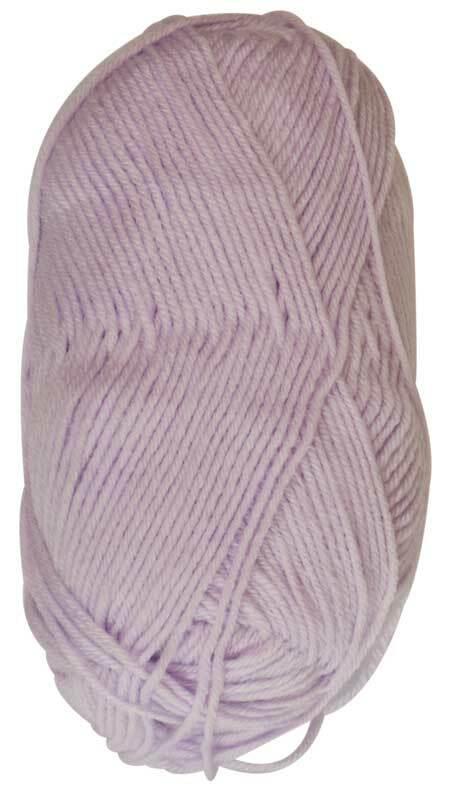 Wolle Baby uni - 50 g, lila