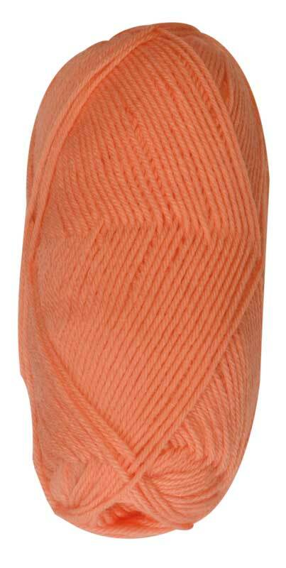 Wolle Baby uni - 50 g, orange
