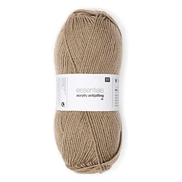 Wolle Essentials Acrylic - 100 g, beige