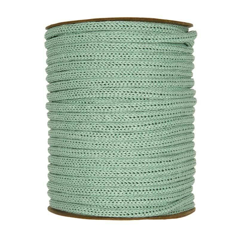 Manchon tricot - Ø 4 mm, menthe