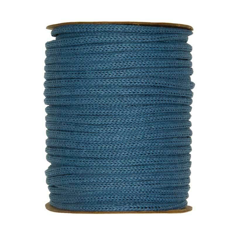 Strickschlauch - Ø 4 mm, blau