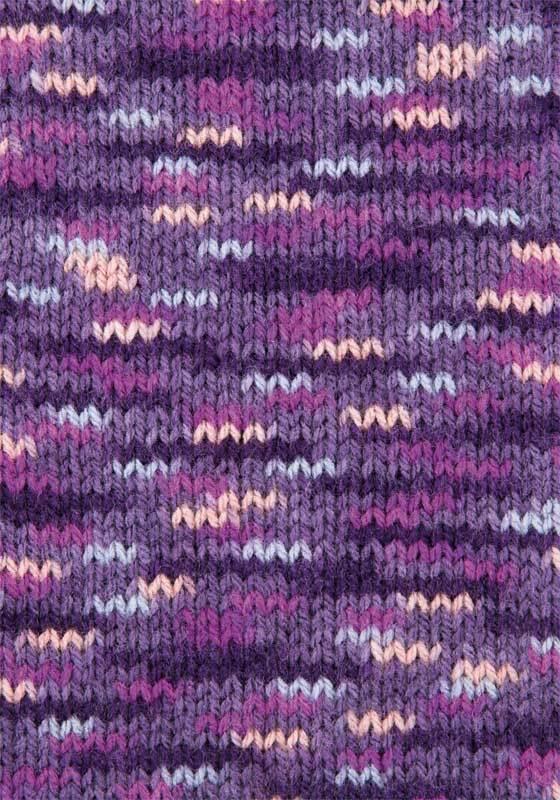 Schoolwol Lisa color - 50 g, bes-fuchsia-lila