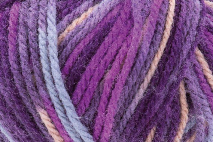Laine Lisa Color - 50 g, baie-fuchsia-lilas