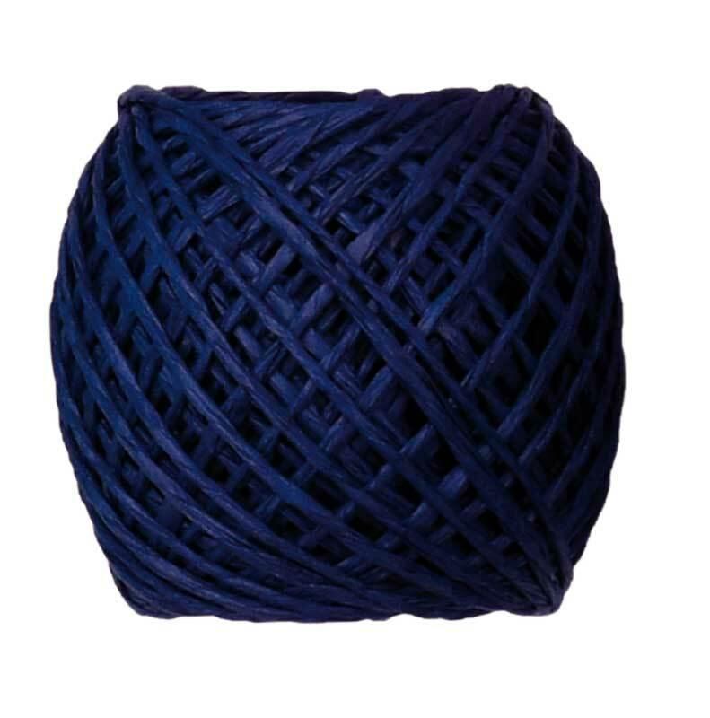 Papierschnur - 20 m, dunkelblau