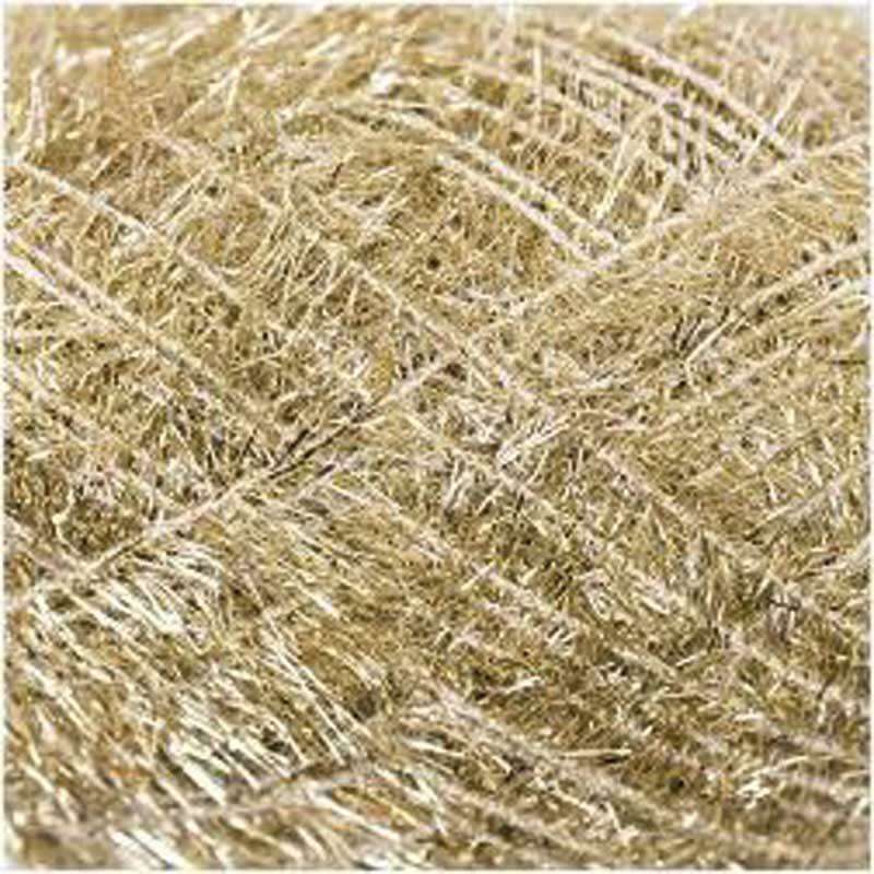 Creative Bubble Garn - 50 g, metallic gold