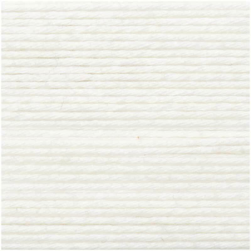 Ricorumi Wolle - 25 g, weiß