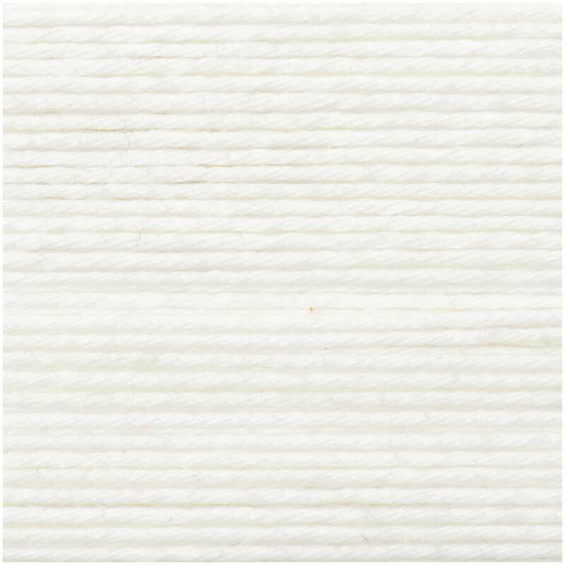 Laine Ricorumi - 25 g, blanc