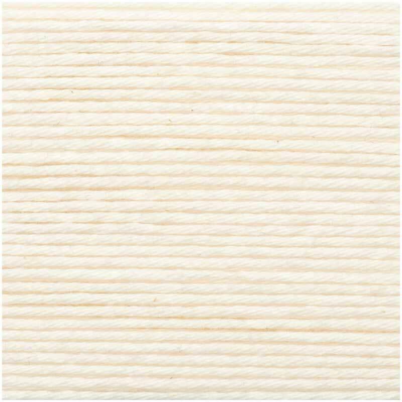 Ricorumi Wolle - 25 g, creme
