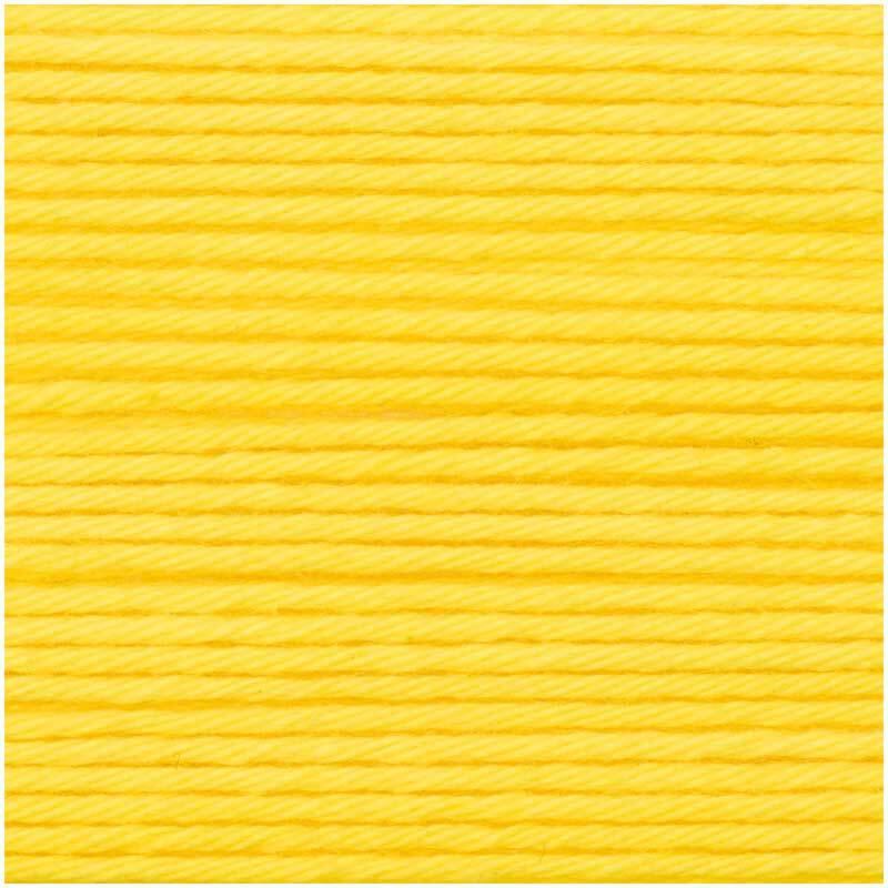 Laine Ricorumi - 25 g, jaune