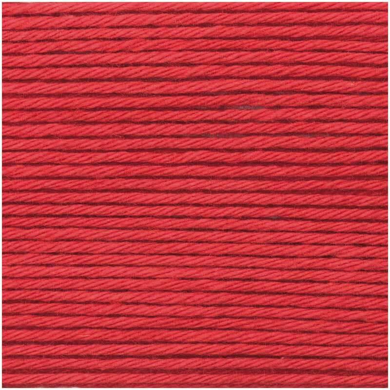 Laine Ricorumi - 25 g, rouge