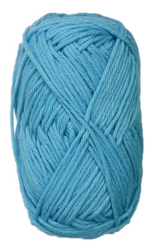 Laine Ricorumi - 25 g, bleu ciel