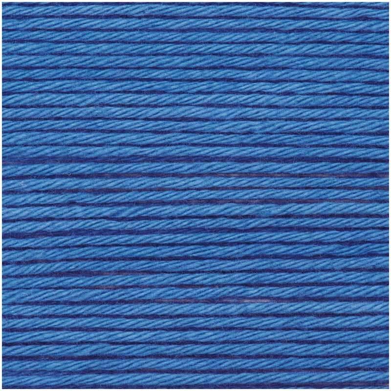 Ricorumi Wolle - 25 g, blau