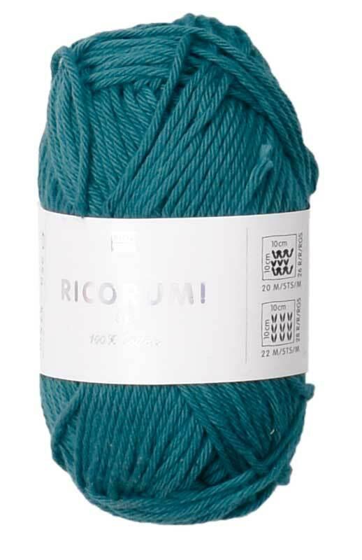 Ricorumi Wolle - 25 g, petrol
