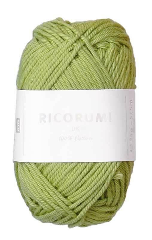 Ricorumi Wolle - 25 g, pistazie