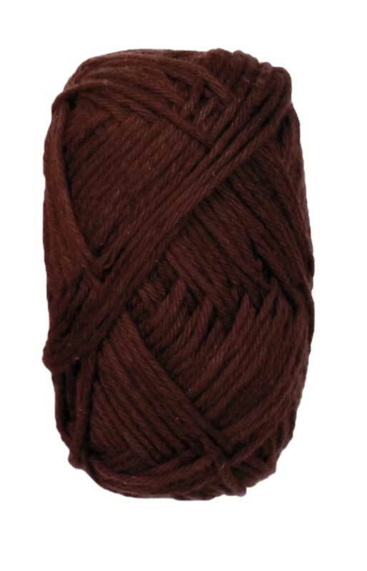 Ricorumi wol - 25 g, chocolade